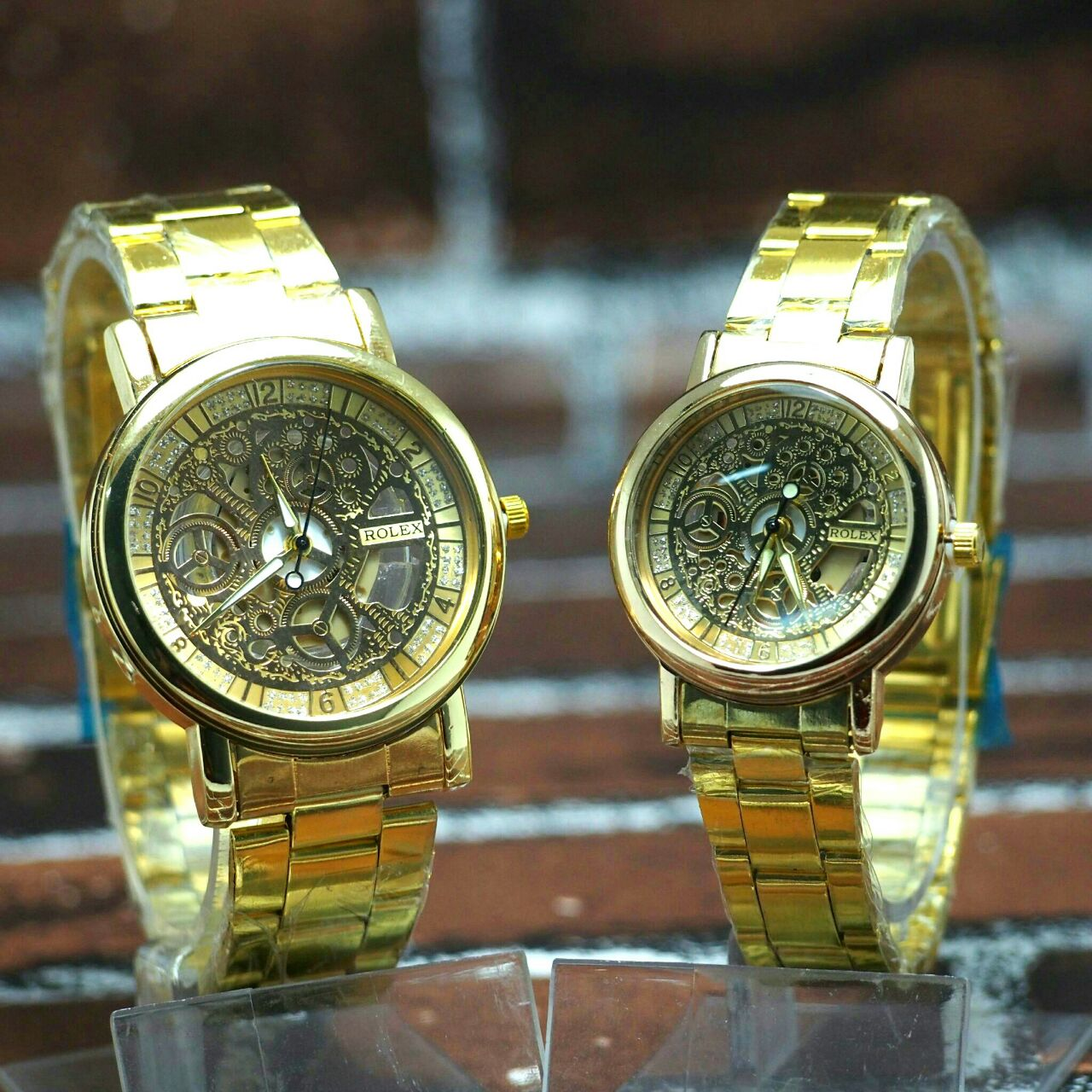 ROLEX COUPLE LIMITED EDITION WATCH RM100