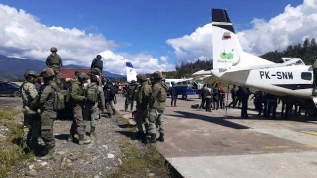 Perangi TPNPB, TNI dan Polri Kirim Pasukan Bersenjata ke Papua