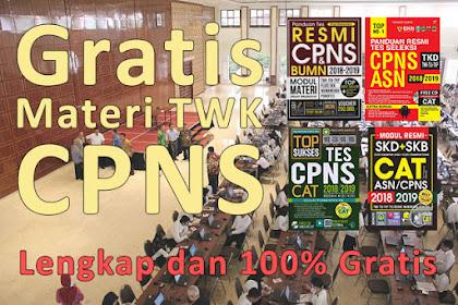 (Lengkap + Gratis) Materi Tes Wawasan Kebangsaan (TWK) CPNS