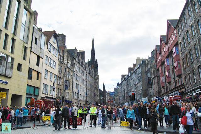 Edimburgo en agosto, Escocia