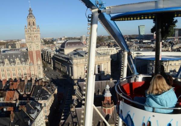 Lille : Martine Aubry autorise l'installation de la grande roue... mais la ferme au public