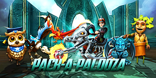Frostcaller: Summer Pack-a-Palooza in Wizard101 & Pirate101