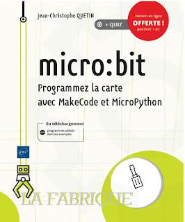 Livre Micro:bit - Programmez la carte avec MakeCode et MicroPython