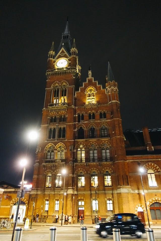 セント・パンクラス駅(St Pancras station)