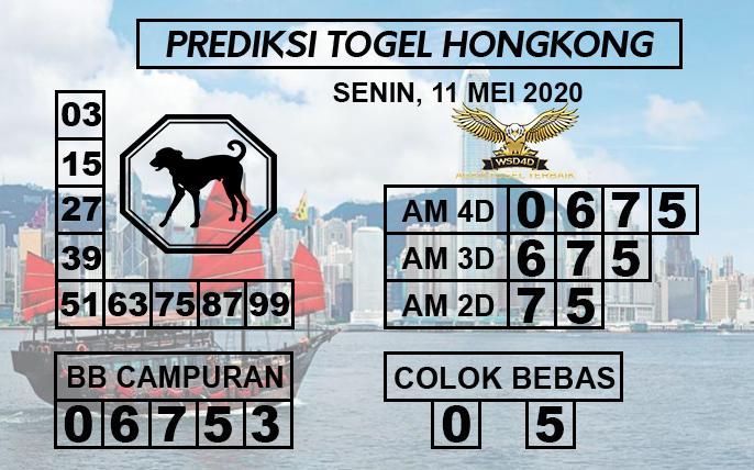 Prediksi Togel HK Senin 11 Mei 2020 - Prediksi WSD4D