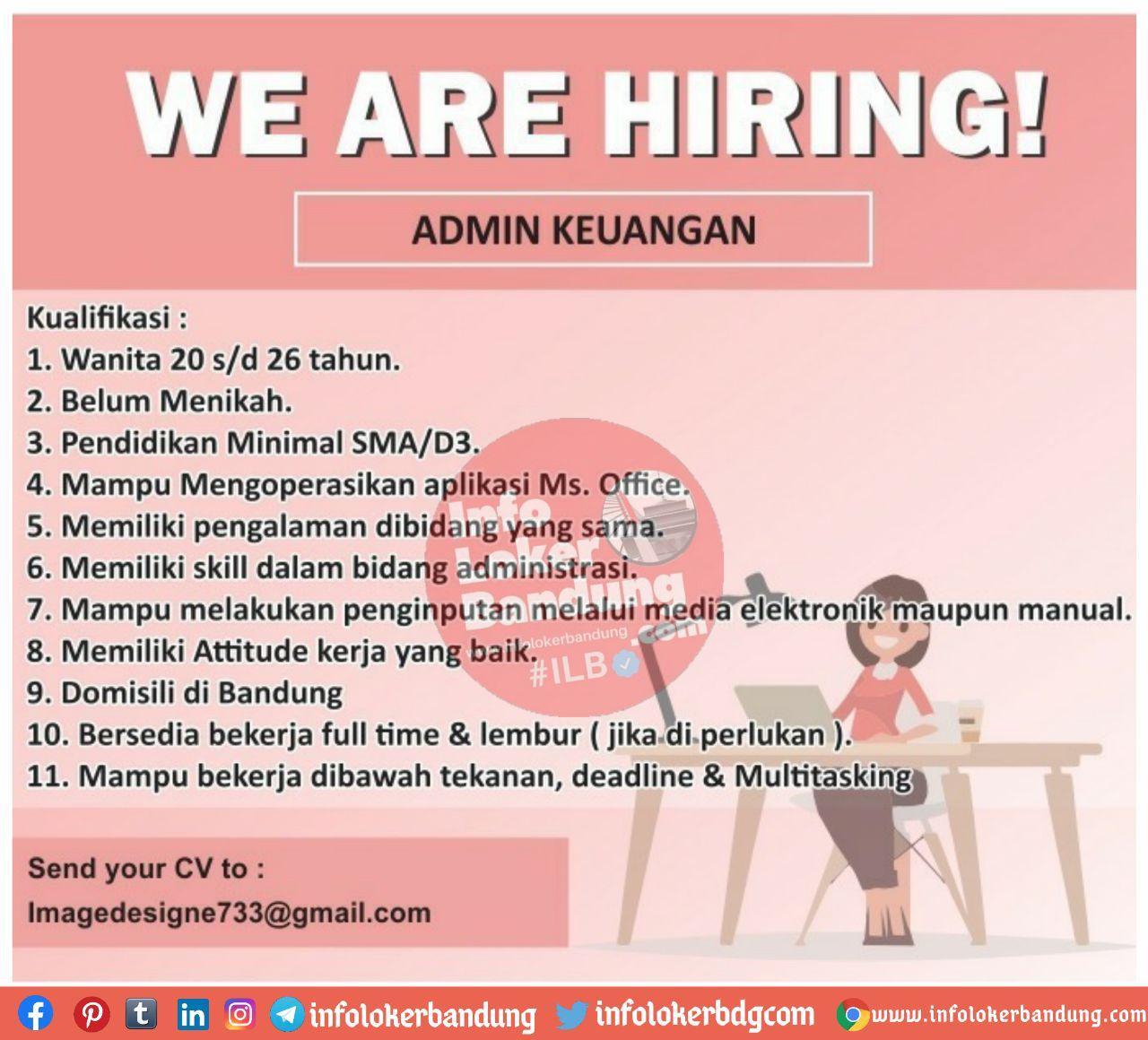 Lowongan Kerja Image Design Bandung November 2020