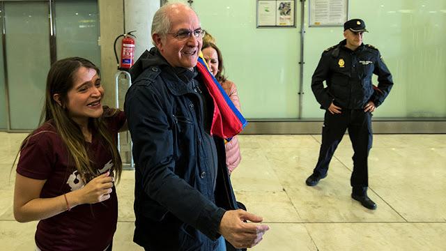 Mariano Rajoy recibe al opositor venezolano Ledezma