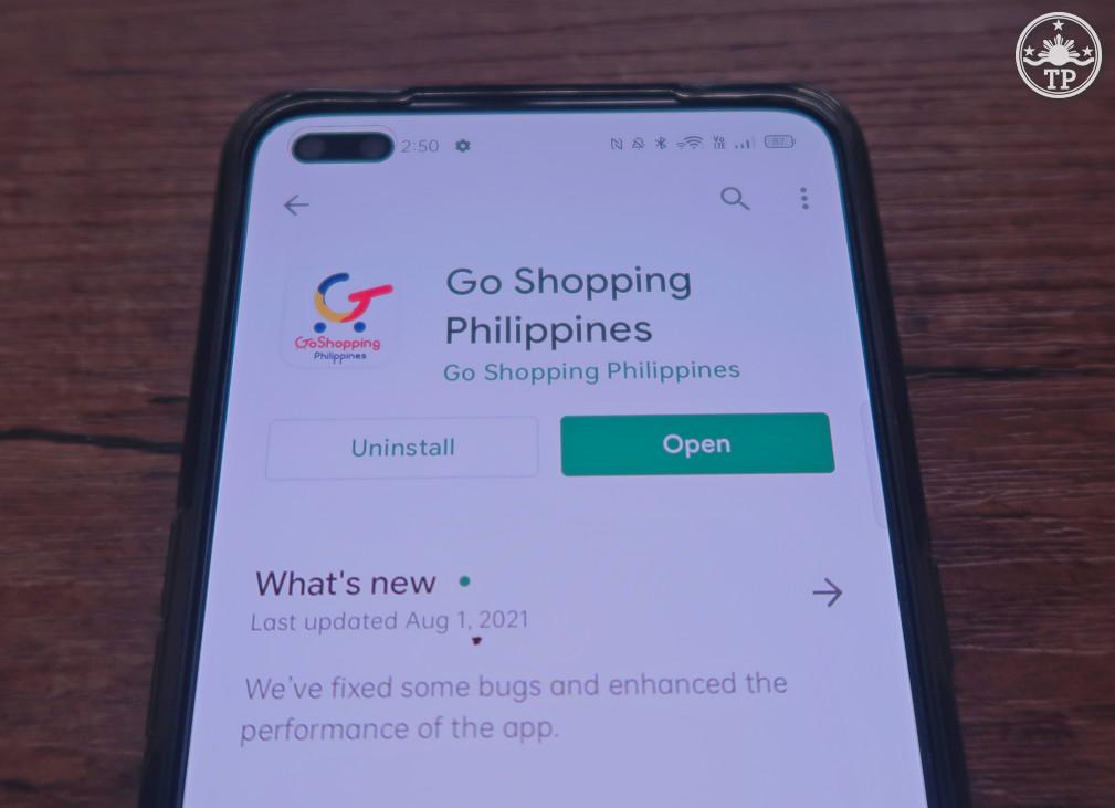 Go Shopping Philippines Mobile App