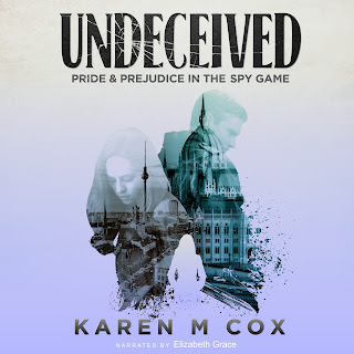 Audio Book cover: Undeceived: Pride and Prejudice in the Spy Game by Karen M Cox, Narrated by Elizabeth Grace