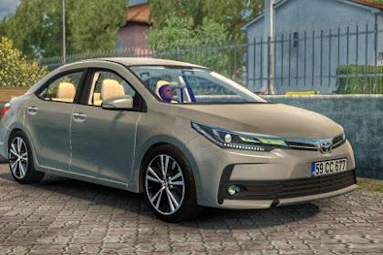 Toyota Corolla 2018 V1.0 - ETS2 Mod Indonesia