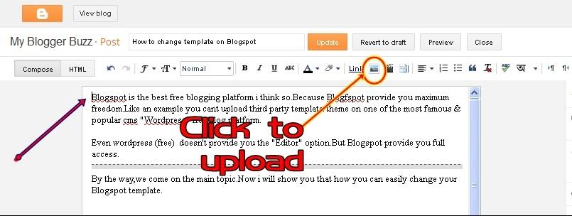Cara Memasang Gambar di Posting Blog