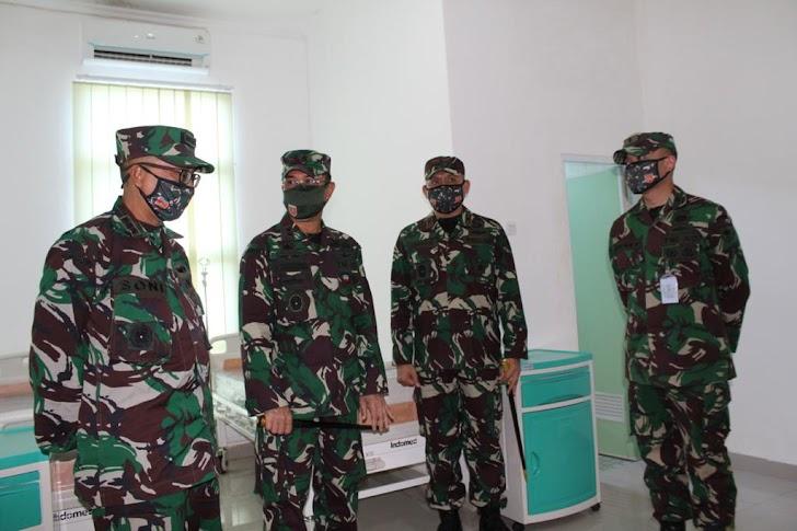 Pangdam Hasanuddin Resmikan Gedung Khusus Pasien Covid19 Rs Ismoyo