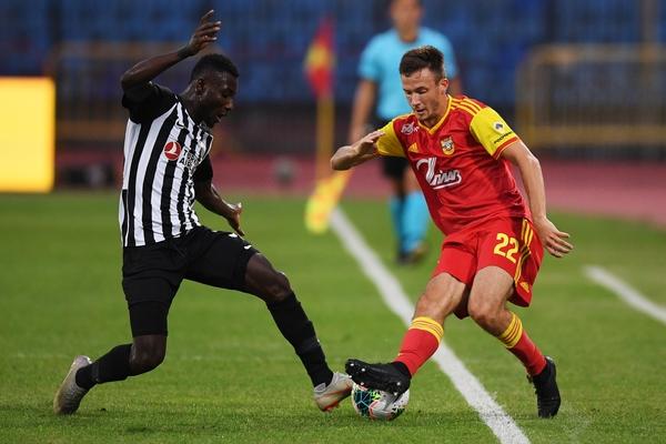Российский клуб впервые проиграл азербайджанскому в еврокубках