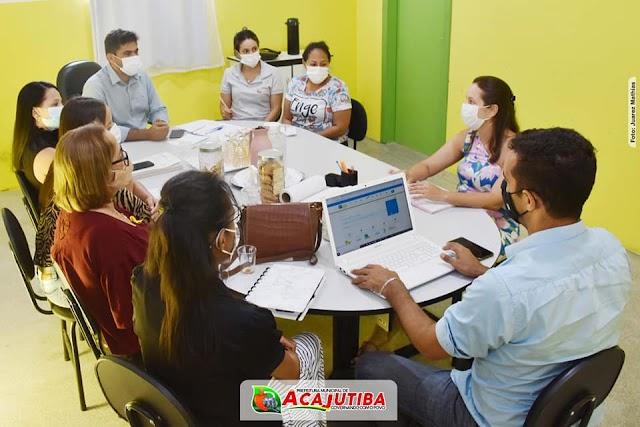 Secretaria de infraestrutura de Acajutiba realiza reunião para discussão de ações futuras
