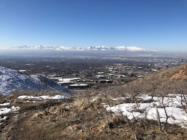 Hiking to The Living Room, Salt Lake City