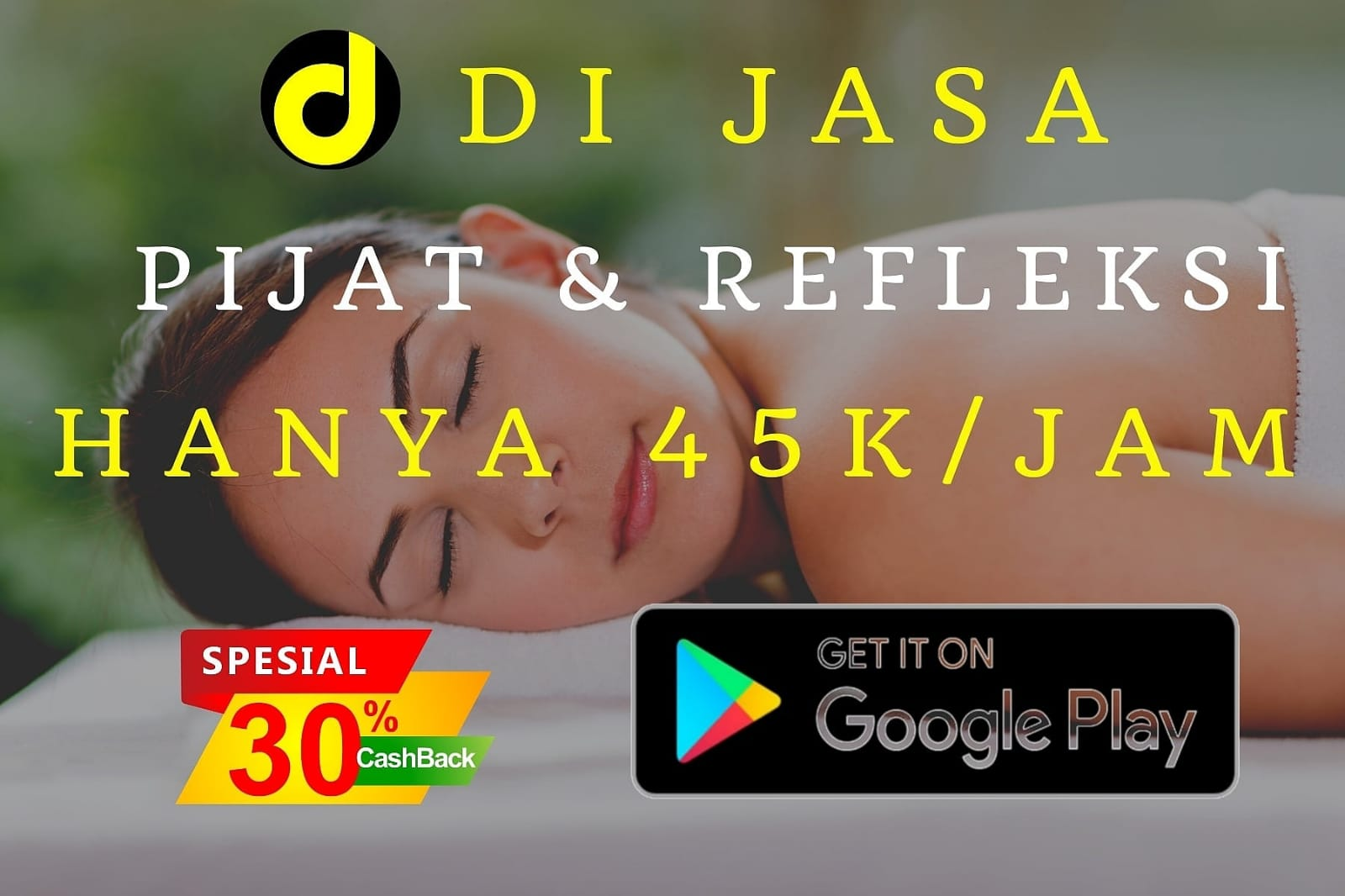 DI JASA MASSAGE CARWASH & CLEANING