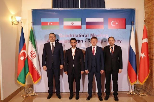 Teherán acoge reunión entre Irán, Azerbaiyán, Rusia y Turquía