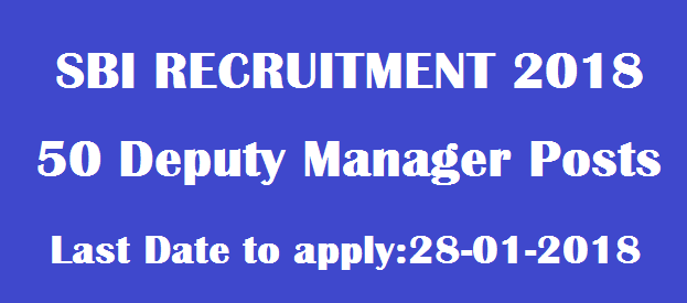 Bank jobs, State Bank of India jobs, Deputy Manager Posts, SBI Recruitment, TS Jobs