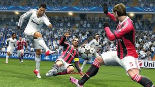 C Ronaldo in action