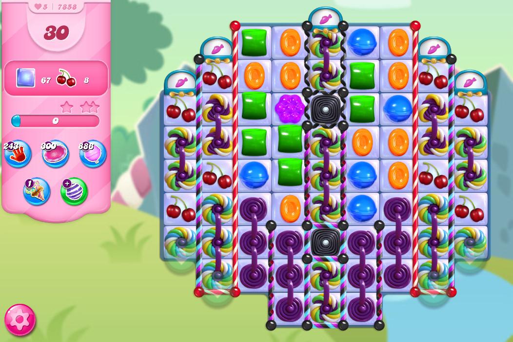 Candy Crush Saga level 7858