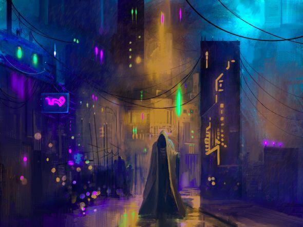Jim Brady artstation ilustrações arte conceitual fantasia ficção sombria