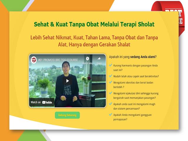 Training Terapi Gerakan Sholat untuk Kesehatan Alat Vital di Jakarta Selatan