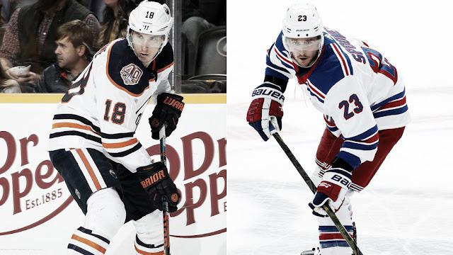HOCKEY HIELO - Intercambio de centers: Spooner para los Oilers y Strome para los Rangers