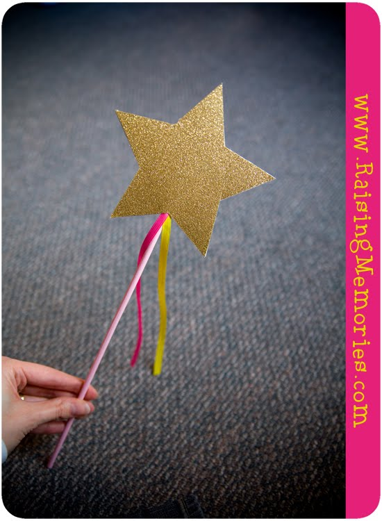 Pinkalicious Star Wand Tutorial