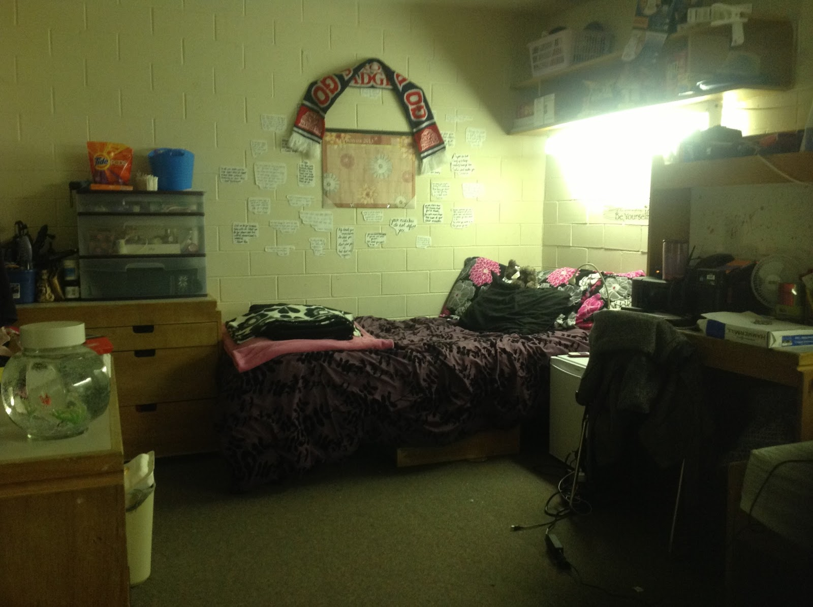 Dancing through university decorating your dorm room on a - How to decorate a dorm room ...