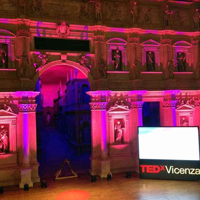 teatro olimpico, tedxvicenza, planting the seeds
