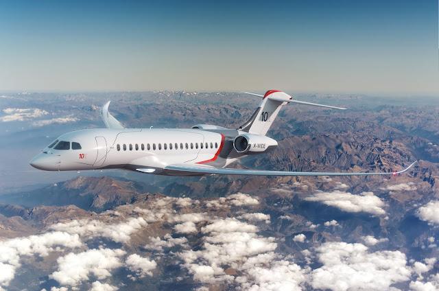 Dassault Aviation acaba de lançar o Falcon 10X, veja fotos   É MAIS QUE VOAR