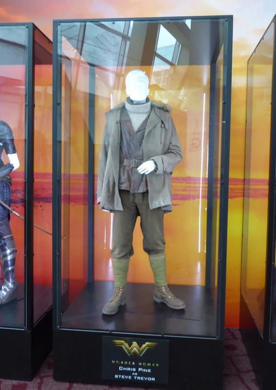 Chris Pine Steve Trevor Wonder Woman film costume