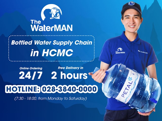 The Water MAN - Water Bottle Supply Chain in HCMC