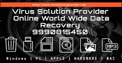data recovery services provided by virus solution provider worldwide data recovery support number 9990815450