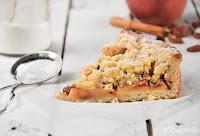 Tarta de manzana y crumble