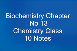 Chapter No 13 Chemistry Class 10 Notes