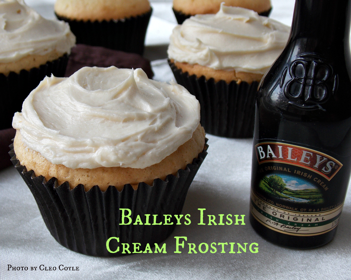 Cleo Coyle Recipes.com: Baileys Irish Cream Frosting ...