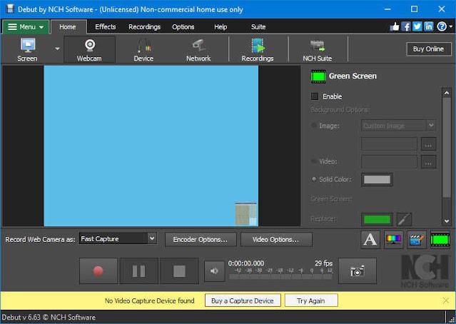 تحميل برنامج كاميرا اللاب توب ويندوز 10 و 7 و 8