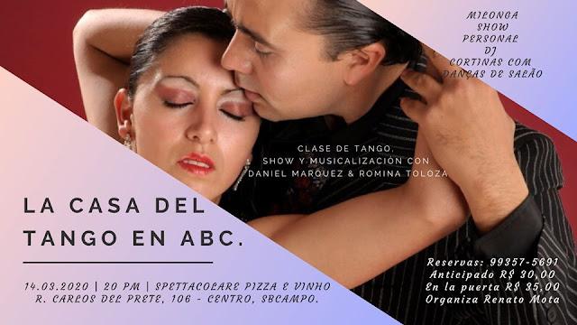 La Casa del Tango en Abc. 8º edição.