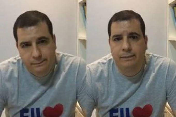 Prefeito de Xique-Xique se irrita com comentário e ofende internauta; assista
