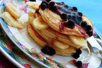 Paleo Banana & Blueberry Pancakes Recipe