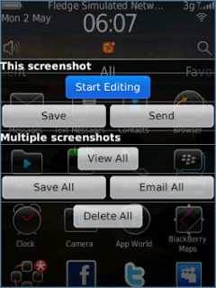 Screenshot Ultimate v2.1 for BlackBerry