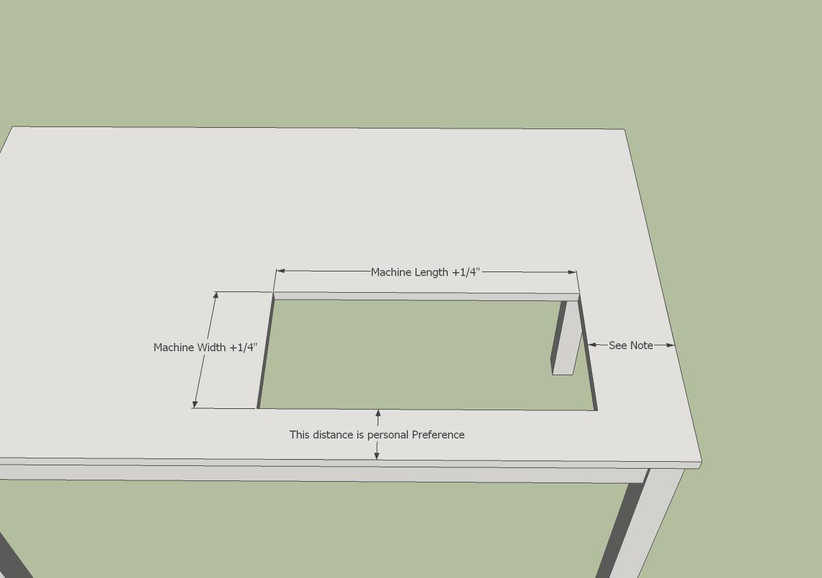blue dinosaurs blog sewing table. Black Bedroom Furniture Sets. Home Design Ideas