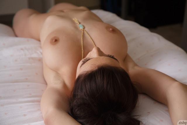 Lana Rhoades small naked tits
