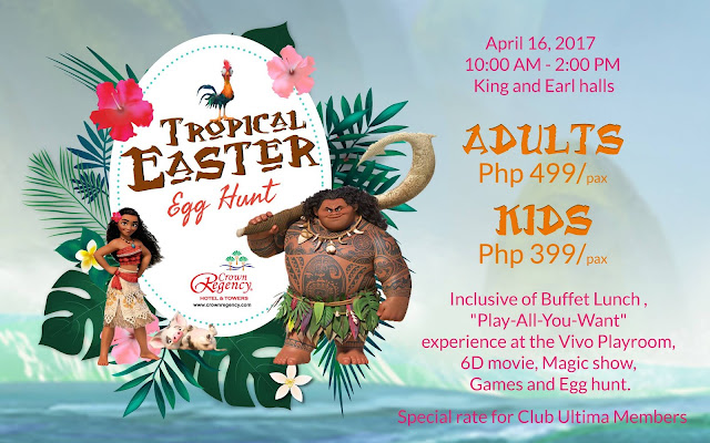 Easter Celebration at Crown Regency Hotel & Towers