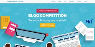 Lomba Blog Memotret Pembangunan Indonesia