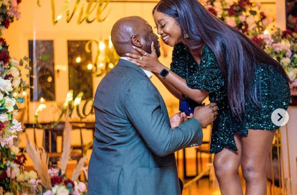 Nollyword Actress, Ini Dima Okojie is engaged