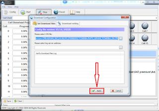 Cara Flash file cpb via QGDP Tool