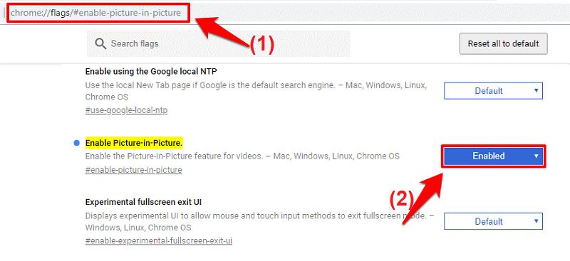 Hướng dẫn xem video dưới dạng cửa sổ Pop-up trên Google Chrome