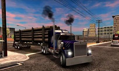 شاحنات Truck Simulator USA